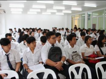 ปฐมนิเทศนักศึกษาฝึกงานคณะเทคโนโลยีอุตสาหกรรม