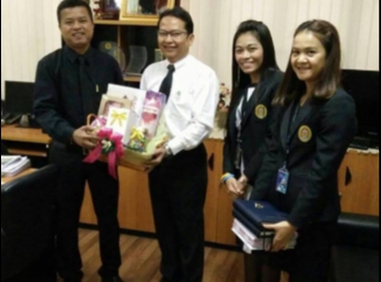 Associate Dean for Administration Faculty of Industrial Technology Gift basket Happy New Year, 2017