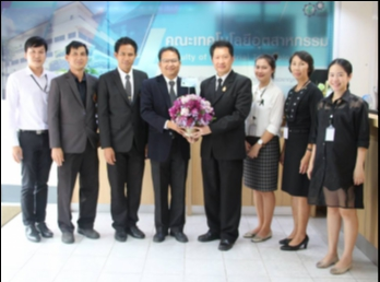 Congratulations อาจารย์รัชศักดิ์ สารนอก On the occasion of being appointed as Assistant Vice President of Management