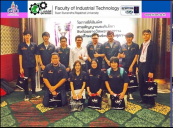 Student Computer Engineering Join the press conference. project The best signal cable 5th The Royal Cup