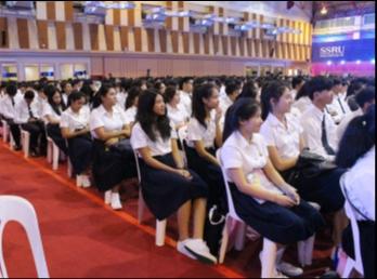 พิธีปฐมนิเทศนักศึกษาใหม่ 2560