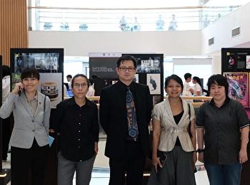 โครงการเผยแพร่วิทยานิพนธ์ของนักศึกษาสาขาวิชาการออกแบบกราฟิกและมัลติมิเดีย ภายใต้ชื่องาน