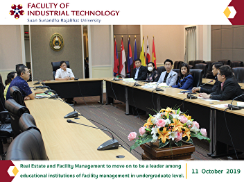 Real Estate and Facility Management to move on to be a leader among educational institutions of facility management in undergraduate level.
