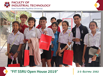 """FIT SSRU Open House 2019"""