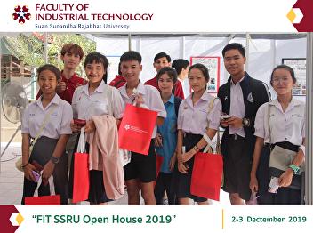 """FIT SSRU Open House 2019"""