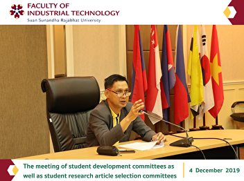 The meeting of student development committees as well as student research article selection committees