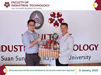 SB Furniture Gave the New Year's Gift Basket on the Occasion of New Year's Day 2020