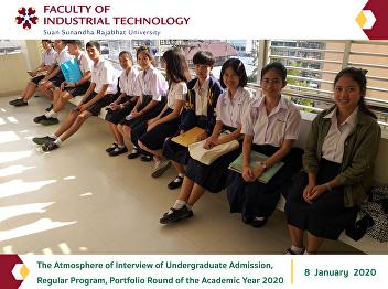 The Atmosphere of Interview of Undergraduate Admission, Regular Program, Portfolio Round of the Academic Year 2020