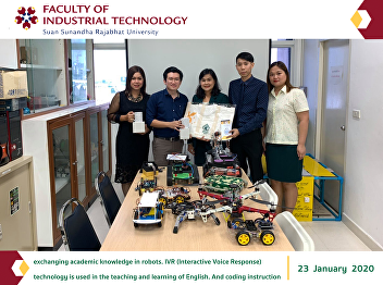 xchanging academic knowledge in robots. IVR (Interactive Voice Response) technology is used in the teaching and learning of English. And coding instruction