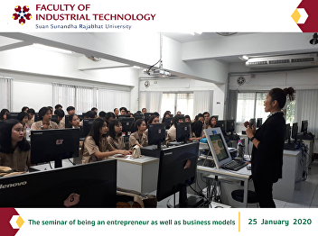 The seminar of being an entrepreneur as well as business models