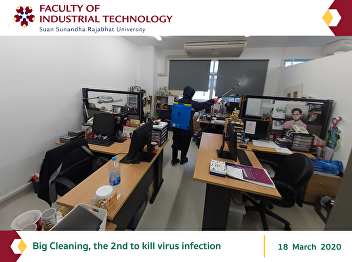 Big Cleaning, the 2nd to kill virus infection