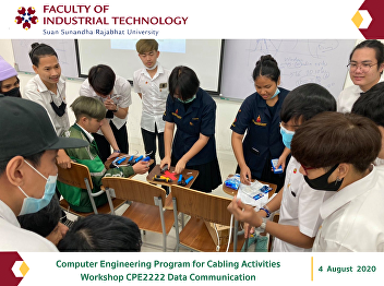 Computer Engineering Program for Cabling Activities Workshop CPE2222 Data Communication