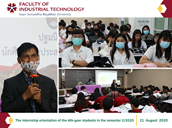 The internship orientation of the 4th-year students in the semester 2/2020