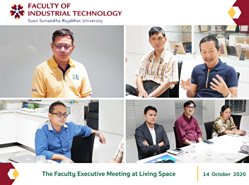 The Faculty Executive Meeting at Living Space