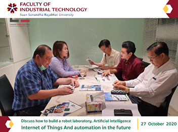 Discuss how to build a robot laboratory. Artificial intelligence Internet of Things And automation in the future