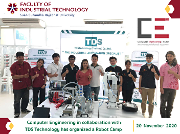 Computer Engineering in collaboration with TDS Technology has organized a Robot Camp
