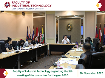 Faculty of Industrial Technology organizing the 5th meeting of the committee for the year 2020
