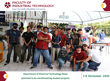 Department of Electrical Technology Show potential to be manifested by student projects