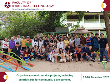 Organize academic service projects, including creative arts for community development.