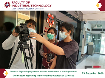 Computer Engineering Department Recorded videos for use as learning materials. Online teaching During the coronavirus outbreak or COVID-19