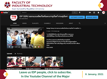 Leave us IDP people, click to subscribe. In the Youtube Channel of the Major