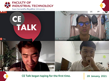 CE Talk began taping for the first time.